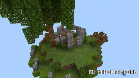 Скачать Sky Islands by Tim Walacy для Minecraft PE