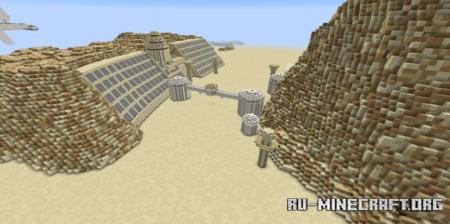 Скачать Star Wars: Tatooine Adventure для Minecraft