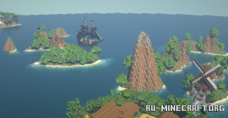 Скачать The Archipelago by Notmikeweir для Minecraft