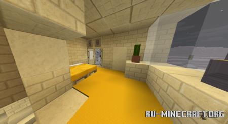 Скачать Modern Desert Survival Map для Minecraft PE