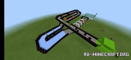 Скачать Pig Race by Valehh для Minecraft PE