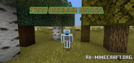 Скачать Tree Grower для Minecraft PE 1.16