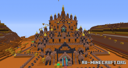 Скачать Only Parkour 2: Thatbyinnyu Temple by TEAM NAWAK для Minecraft