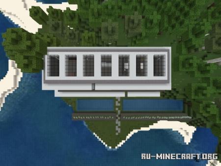 Скачать Modern House Three для Minecraft PE