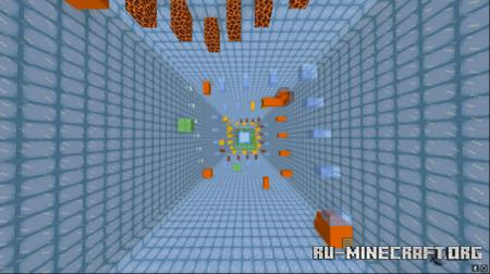 Скачать Ice Parkour by HarryHJL для Minecraft PE