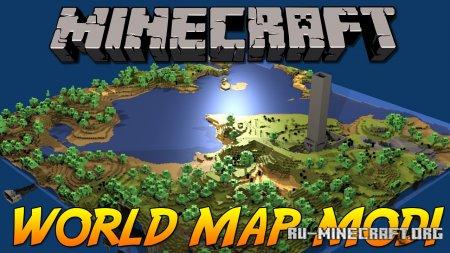 Скачать Xaero's World Map для Minecraft 1.16.5