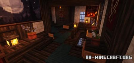 Скачать Medieval house 3 by ninjakiller160 для Minecraft