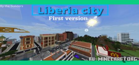 Скачать Liberia City для Minecraft PE