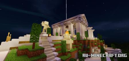 Скачать Mt. Olympus для Minecraft PE