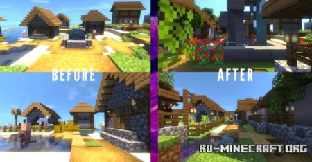 Скачать Artur's Little Island Town для Minecraft