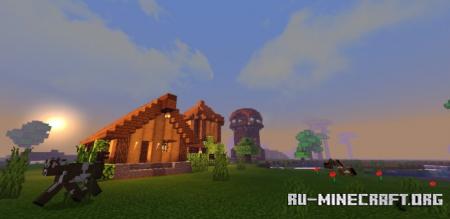 Скачать Forest House by Luiscraft для Minecraft PE