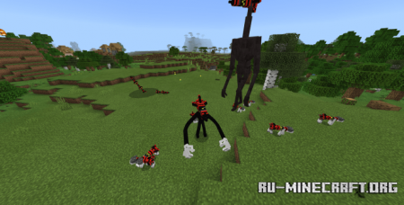 Скачать Trevor Henderson Creatures: Missile Edition для Minecraft PE 1.16