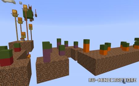 Скачать Sky of Colours Parkour для Minecraft