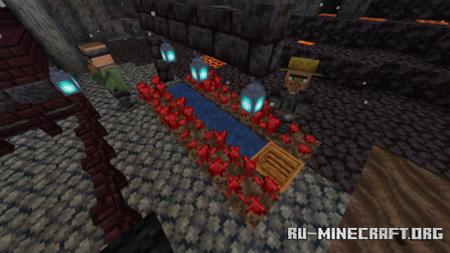 Скачать Nether Village (Concept/Idea) для Minecraft PE