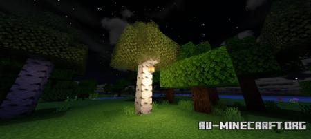 Скачать Fused Vanilla Shader VDark V2 для Minecraft PE 1.16