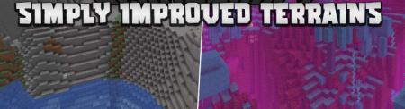Скачать Simply Improved Terrains для Minecraft 1.16.5