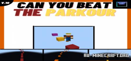 Скачать Mega Stage Parkour для Minecraft PE