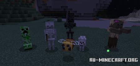 Скачать 3D Mobs for Bedrock для Minecraft PE 1.16