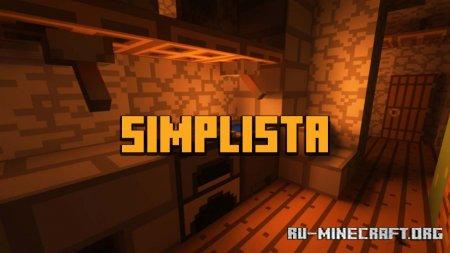 Скачать Simplista [16x] для Minecraft 1.16