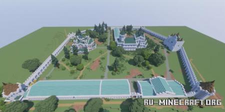 Скачать Далматовский Успенский Монастырь для Minecraft