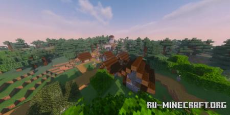 Скачать Engsoleie Villange V1.6 by Angelmurk21 для Minecraft