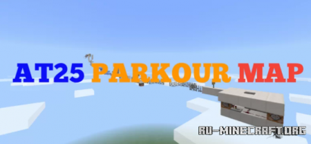 Скачать AT25 PARKOUR MAP для Minecraft