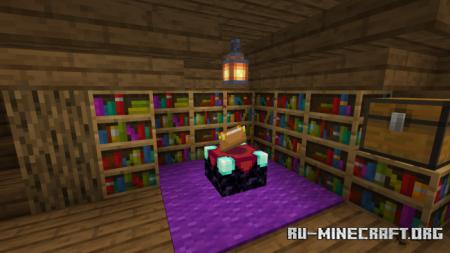 Скачать MiauMatti's Witch Hut Transformation для Minecraft PE
