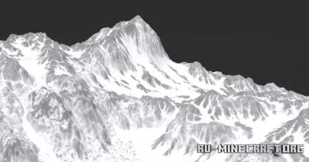 Скачать Tundra - Windswept Mountain для Minecraft