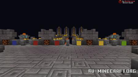 Скачать Medieval Lucky Block Race для Minecraft PE