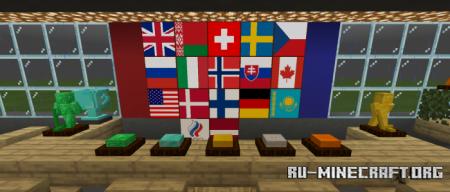 Скачать Ice Hockey Minigame V2 для Minecraft PE