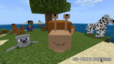 Скачать Animals Beginning With 'S' для Minecraft PE 1.16