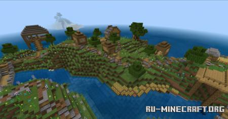 Скачать Villa On The Island для Minecraft PE