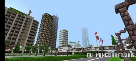 Скачать Lance Ville 2.0 для Minecraft PE