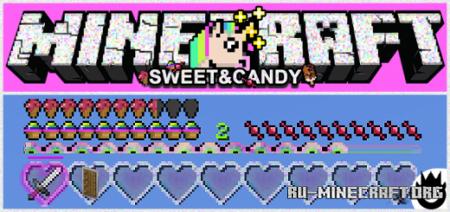 Скачать Sweet and Candy для Minecraft PE 1.16