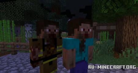 Скачать Zombie Extreme для Minecraft 1.16.5