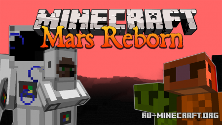 Скачать Mars Reborn для Minecraft 1.16.5