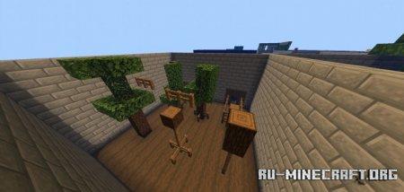 Скачать Wood Parkour by AnuGrahbodi123 для Minecraft PE