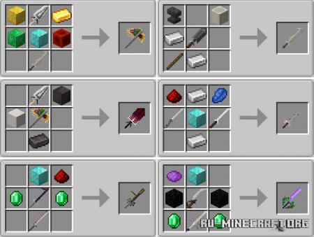 Скачать True Weaponry для Minecraft 1.15.2