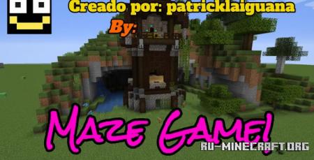 Скачать Maze Game by patricklaiguana для Minecraft
