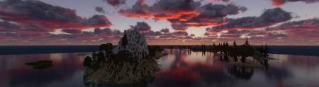 Скачать My first WorldPainter by Sirus0340 для Minecraft