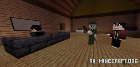 Скачать They Lurks by PMNguyen для Minecraft PE