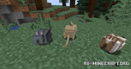 Скачать Vanilla Degus для Minecraft 1.16.5