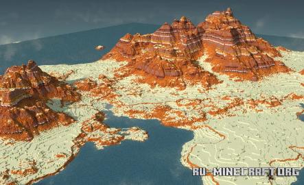 Скачать The World of Kraqin для Minecraft