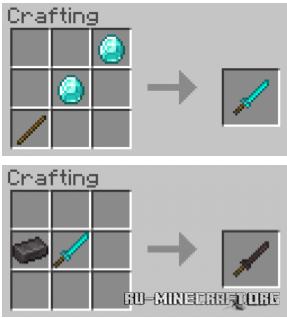 Скачать More Vanilla Weapons V1.4 для Minecraft PE 1.16