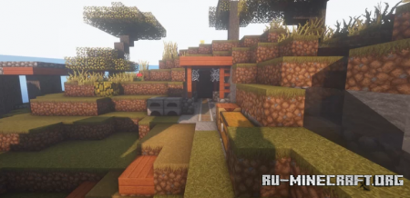Скачать Savana Island by DarkIgnite для Minecraft