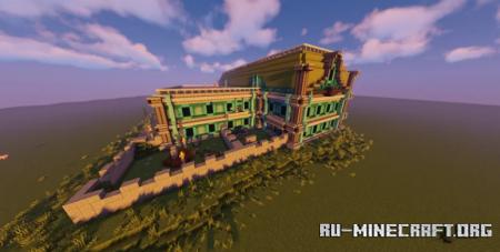 Скачать Luigi's Mansion by PtWolf для Minecraft