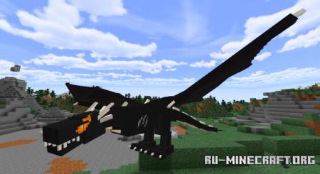 Скачать Dragon Add-On by mno для Minecraft PE 1.16