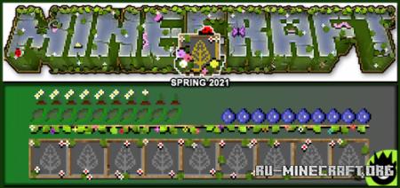 Скачать Spring 2021 для Minecraft PE 1.16