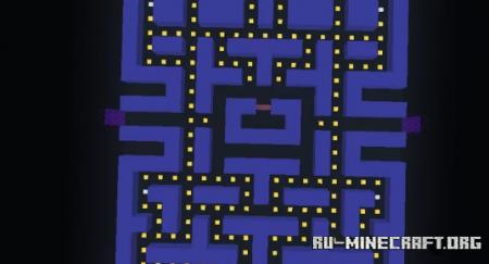 Скачать Multiplayer Pacman для Minecraft