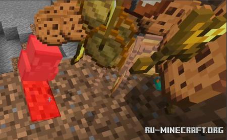 Скачать Pancakes Gravestones для Minecraft PE 1.16